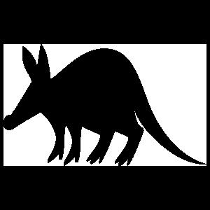Aardvark Sticker