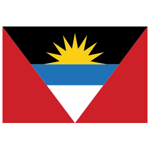 Antiqua Flag Magnet