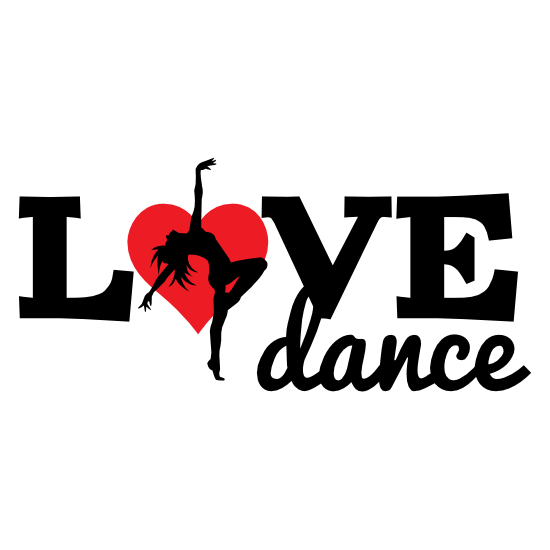 Arched Back Love Dance Sticker