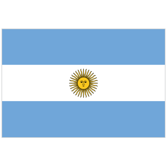 Argentina Country Flag Magnet