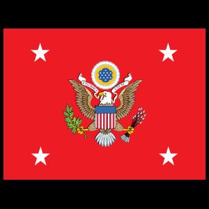 Army Us Secretary Of The Army Flag Sticker