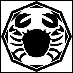 Astrology - Cancer Zodiac Sticker