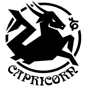 Astrology - Capricorn Sticker
