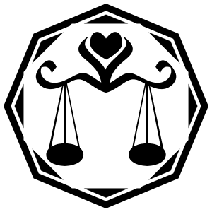 Astrology - Libra Sticker