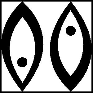 Astrology - Pisces Zodiac Symbol Sticker