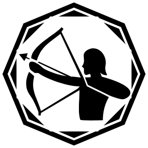Astrology - Sagitarius Zodiac Sticker