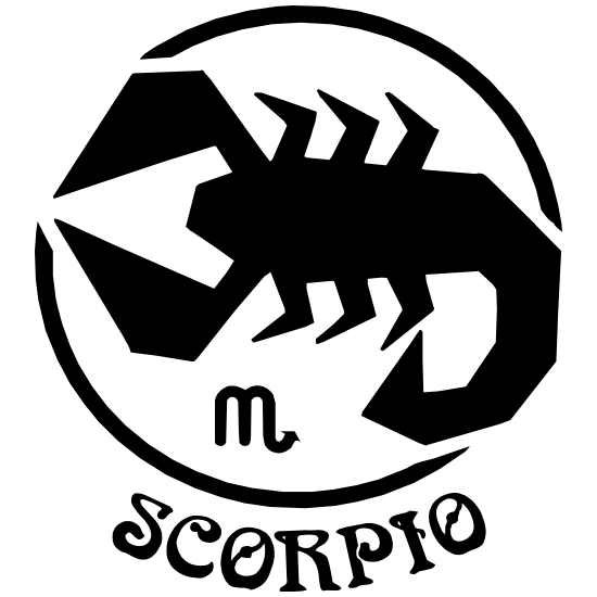 Astrology - Scorpio Sticker