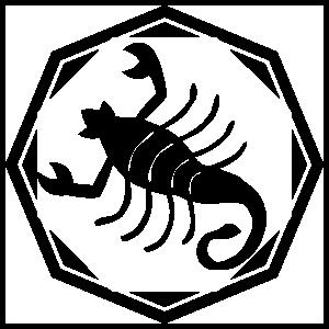 Astrology - Scorpio Zodiac Sticker