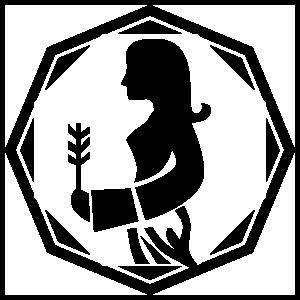 Astrology - Virgo Zodiac Sticker