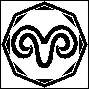 Astrology - Aries Zodiac Sticker