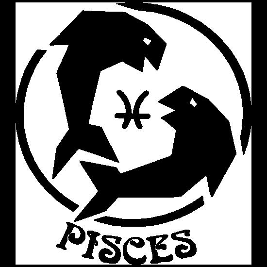 Astrology - Pisces Sticker