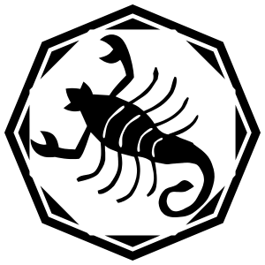 Astrology - Scorpio Zodiac Sticker