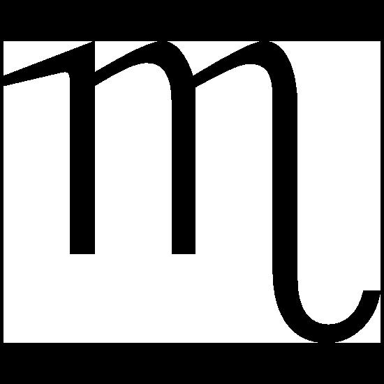 Astrology - Scorpio Zodiac Symbol Sticker