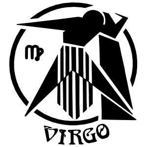 Astrology - Virgo Sticker