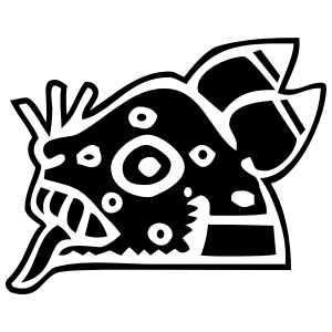 Aztec Jaguar Sticker