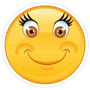 Crazy Soft Smile Emoji Sticker