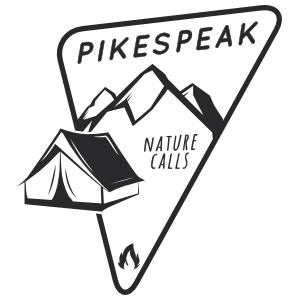 Pikespeak Nature Camping Sticker