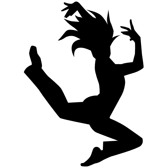 Ballet Leap Dancer Sticker