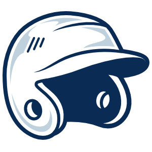 Baseball or Softball Helmet with Shading Sticker