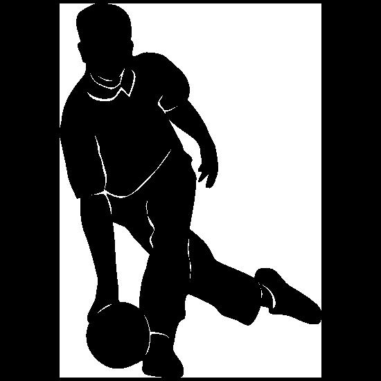 Male Bowler Bowling Sticker