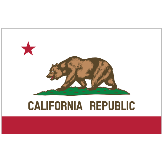 California Ca State Flag Sticker