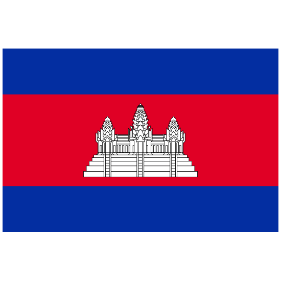 Cambodia Country Flag Magnet