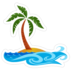 Ocean Beach Sticker