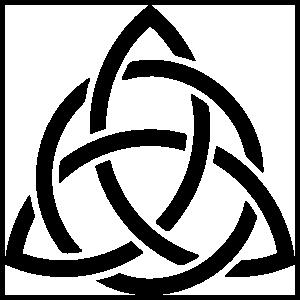 Celtic Knot Triquetra Sticker