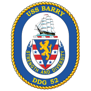 USS MAHAN DDG 72 Silhouette Decal U S Navy USN Military
