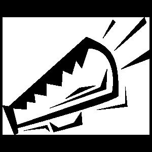 Detailed Cheer Megaphone Sticker