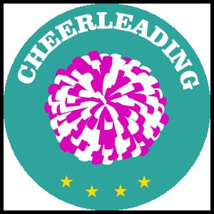 Circle Cheerleading Sticker