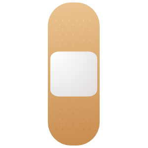 Band Aid Bandage Sticker