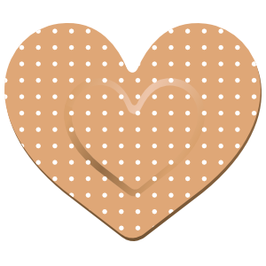 Pretty Heart Band Aid Bandage Sticker
