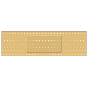 Rectangular Band Aid Bandage Sticker