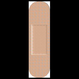 Skinny Band Aid Bandage Sticker