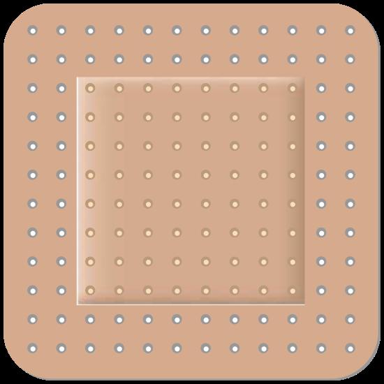 Standard Square Bandage Sticker
