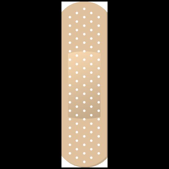 Simple Band Aid Bandage Sticker