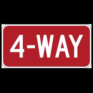 4-Way Sticker