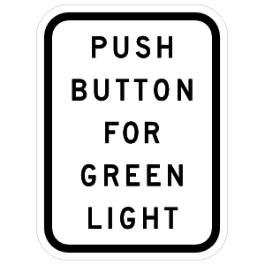 Push Button For Green Light Magnet