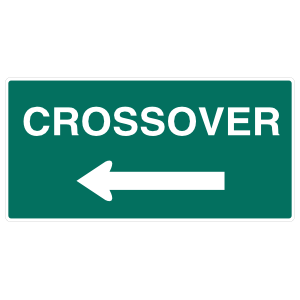 Crossover Left Sticker