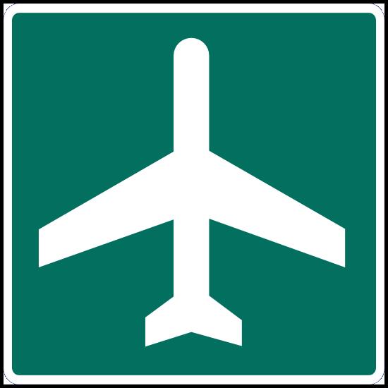 Airport Sticker