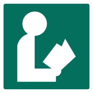 Library Sticker