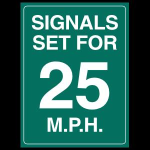 Signals Set For 25Mph Magnet