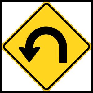 Left U-Turn Curve Magnet