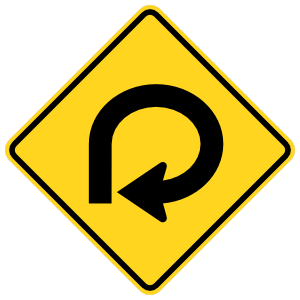 360 Curve To The Right Magnet