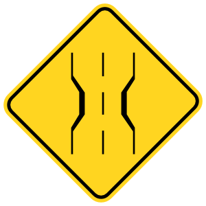 Indents In Road Sticker