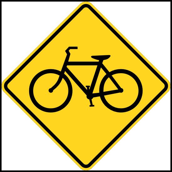 Warning Bicycles Sticker