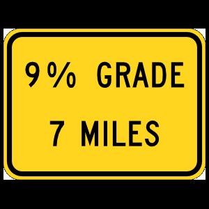 9% Grade 7 Miles Magnet