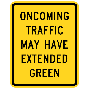 Oncoming Traffic May Have Extended Green Magnet