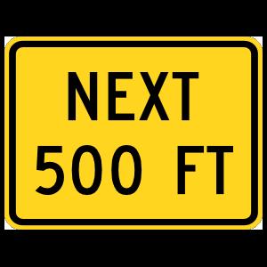 Next 500 Feet Magnet